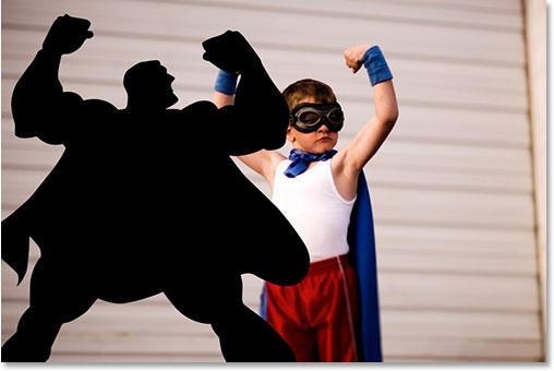 Adobe Photoshop tutorial Photoshop effects image.